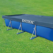 Intex 28039 - Cobertor piscina rectangular Prisma-small frame 460 x 226 cm